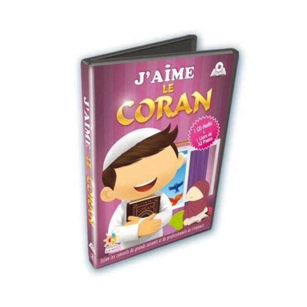 Photo J'AIME LE CORAN – CD + LIVRE - Athariya kids
