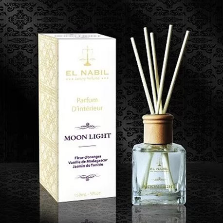 Photo Parfum Maison Al Nabil – Fleur Oranger, Vanille Madagascar, Jasmin Tunisie - El-Nabil