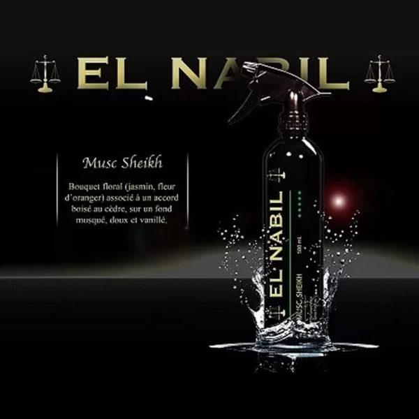 Photo Parfum Maison Al Nabil – Musc Sheikh – 500 ml - El-Nabil