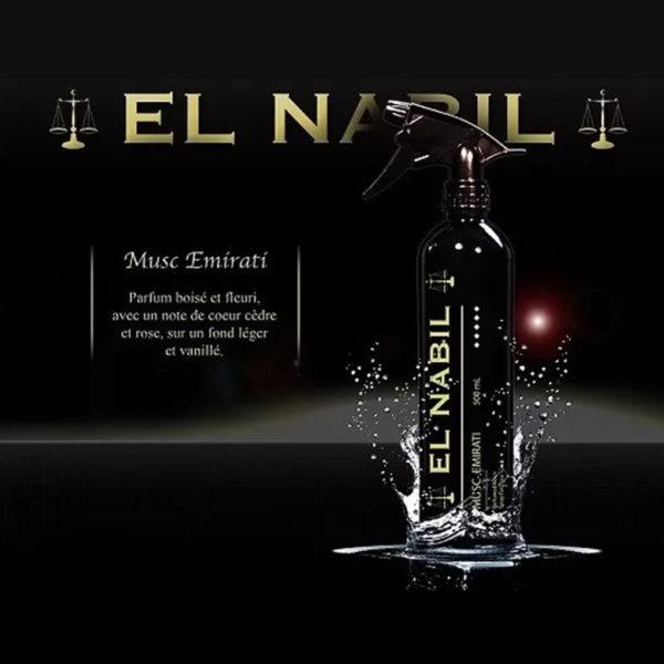 Photo Parfum Maison Al Nabil – Musc Emirati – 300 ml - El-Nabil