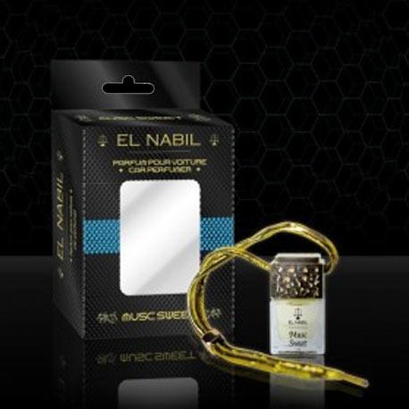 Parfum Voiture Musc Sweet El Nabil - Diffuseur voiture al Nabil - 6ml Parfums islamique E-maktaba.fr