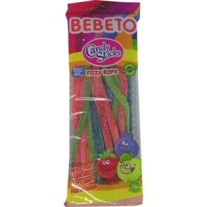 Candy Sticks Bonbon Baton Fourré Tutti Acide - Bebeto - Halal - Sachet 180gr, bonbon halal E-maktaba.fr