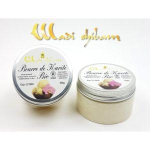 Beurre de Karité BIO Non Raffiné - 100g - Wadi Shibam, E-maktaba.fr
