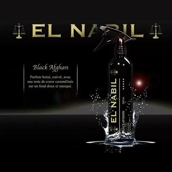Photo Parfum Maison Al Nabil – Musc Black Afghan – 500 ml - El-Nabil