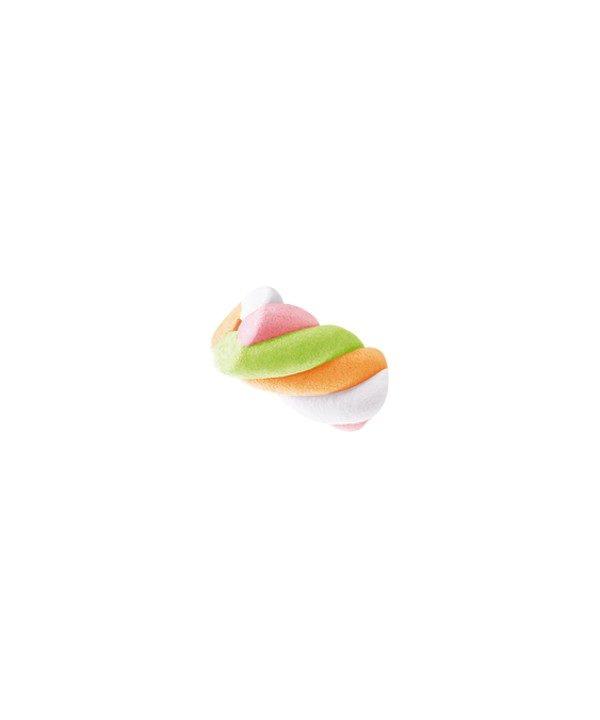Bonbons Marshmallow - Rainbaw Twist - Sans Gras - Bebeto - Halal - Sachet 60gr, bonbon halal