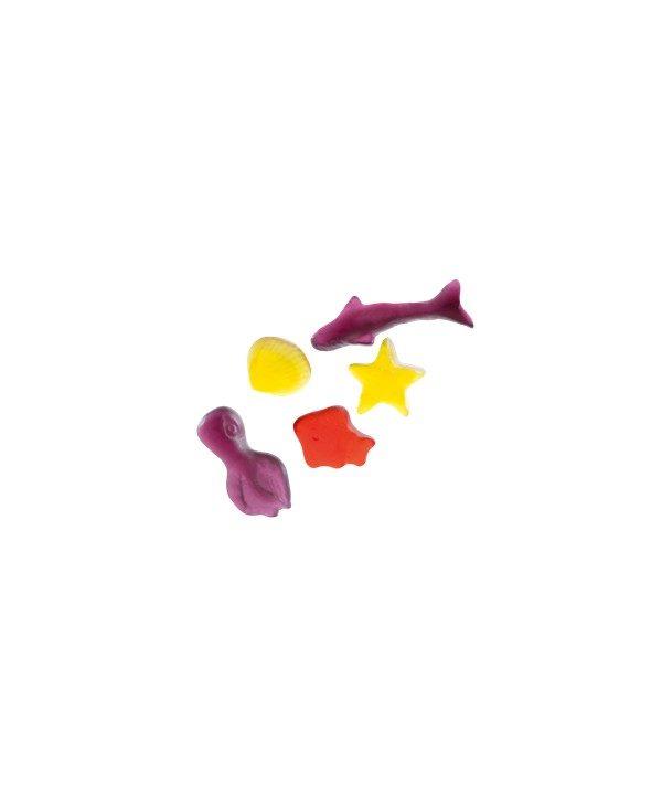 Bonbons Ocean Park - Fabriqué avec du Vrai Jus de Fruit - Bebeto - Halal - Sachet 80gr, Bonbon Halal