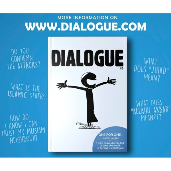 Photo Dialogue en anglais - Bdouin