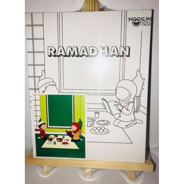 Photo Kit Toile à Peindre – Ramadhan (Jeûne) – CREATIV' ARKANE – Mooslim Toys - Mooslim Toys