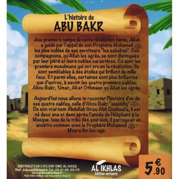 L'histoire de Abu Bakr - 3/6 ans - Al-Ikhlas monde Musulman e-maktaba