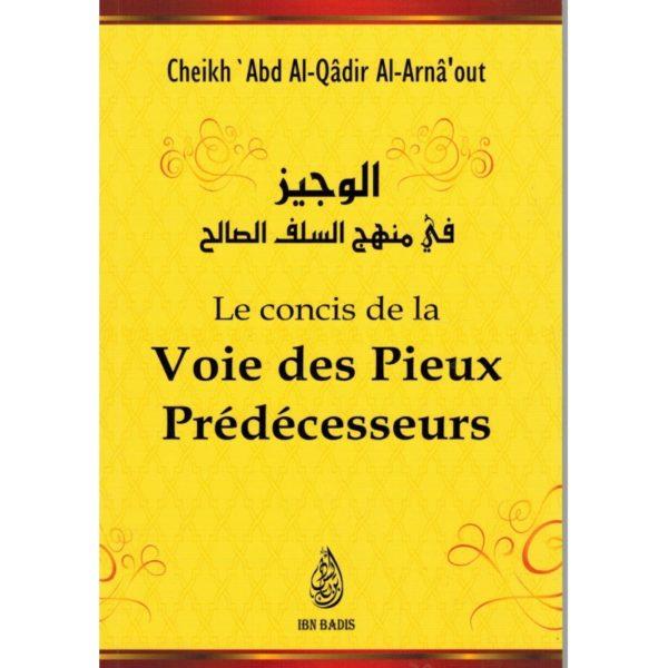 Photo LE CONCIS DE LA VOIE DES PIEUX PRÉDECESSEURS – SHEIKH AL ARNA'OUT - Ibn badis