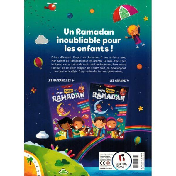 Mon Cahier de Ramadan - Les Grands (7+) - Learning Roots, produits islamique e-maktaba