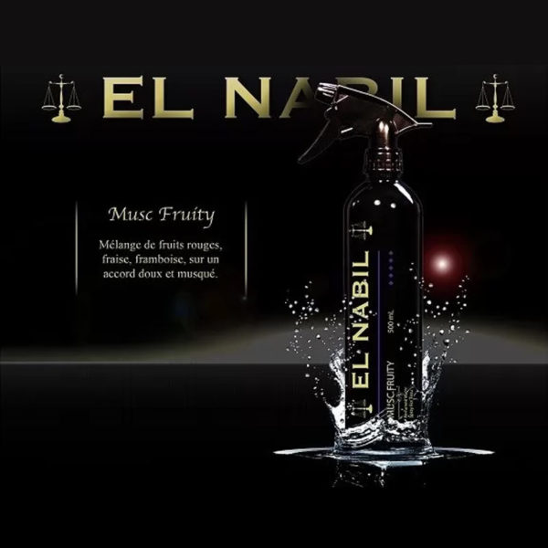 Photo Parfum Maison Al Nabil – Musc Fruity – 500 ml - El-Nabil