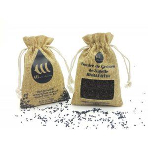 Poudre de Graines de Nigelle d'Éthiopie Certifiées Pures à 99% - 100g - Wadi Shibam, e-maktaba.fr