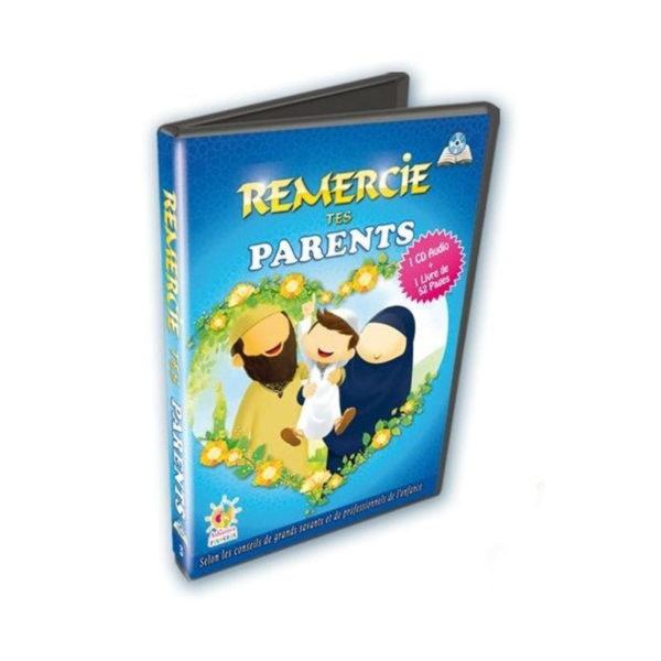 Photo REMERCIE TES PARENTS – CD + LIVRE - Athariya kids