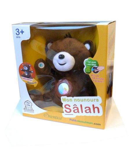 Photo Mon nounours Salah : C'est si facile et amusant d'apprendre sa religion ! (version sans les yeux) - Orientica