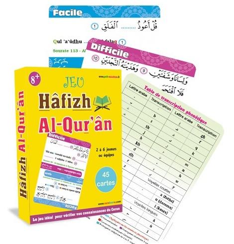 Photo Jeu : Hâfizh Al-Qur'ân (Jeu de société autour du Coran : 2 à 6 joueurs – 8 ans et plus) - Osratouna