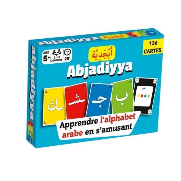 136 Cartes Abjadiyya Apprendre l'alphabet arabe en s'amusant, E-maktaba