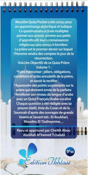 Photo Mouslim Quizz Pocket : Questions-Réponses sur la Prière - Al ikhlas