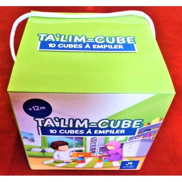 Photo TA'LIM-CUBE – 10 Cubes à Empiler – Apprendre sa religion et l'Arabe – MUSLIMKID - Muslim Kid