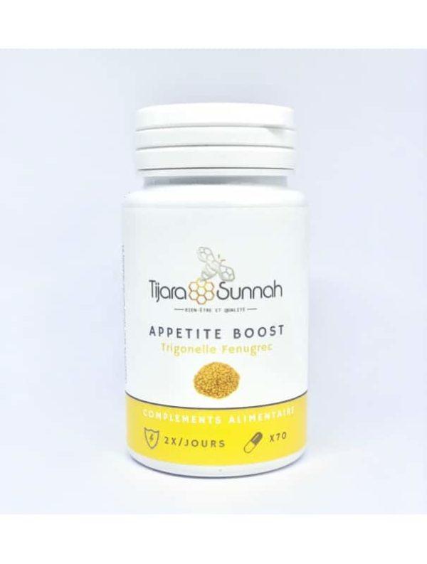 Photo Appetite Boost : Gélules De Fenugrec – Pot de 70 gélules - Tijara Sunnah