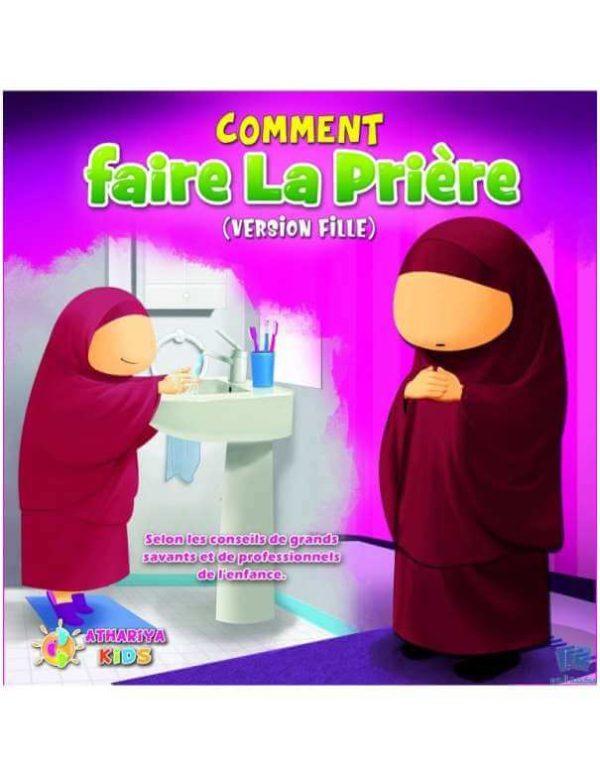 Photo Comment Faire La Prière version fille – athariya kids - Athariya kids
