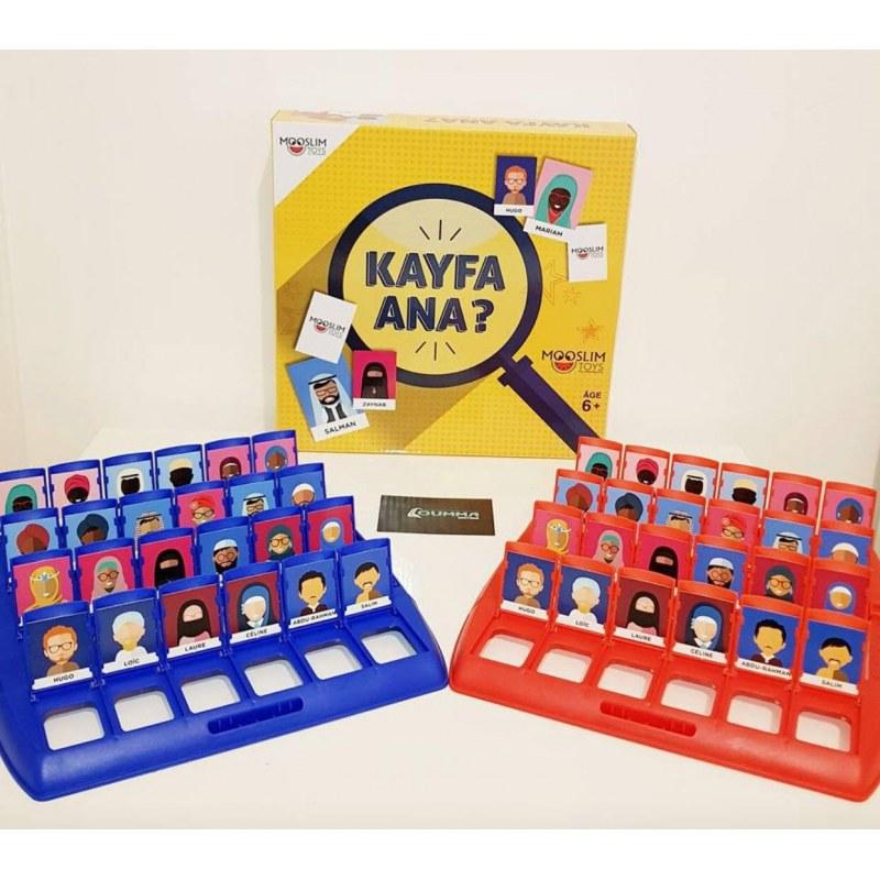 Photo Kayfa Ana ? – Le jeux de société pour toute la famille - Mooslim Toys