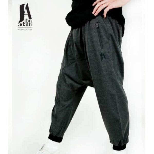 Photo Sarouel Jogging noir – Ibn Adam - Ibn Adam Collection