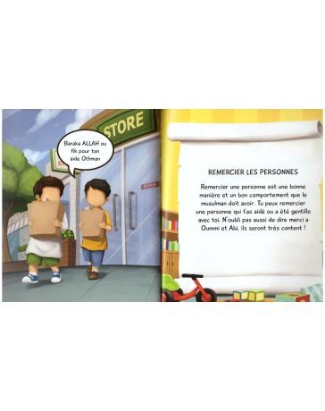 Photo Le Livre Des Bonnes Manières – 3/6 Ans- Edition Muslim Kid - Muslim Kid