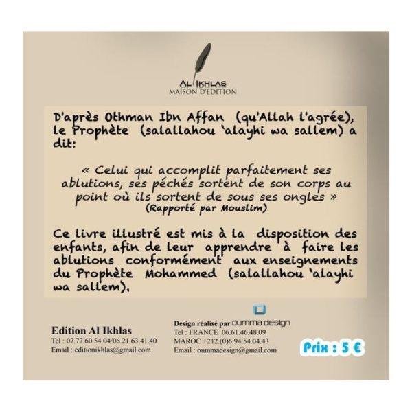 Photo MON LIVRE DES ABLUTIONS (VERSION GARÇON) - Al ikhlas