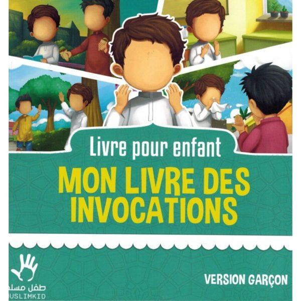 Photo Mon livre des Invocations – Version Garçon – MUSLIMKID - Muslim Kid