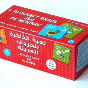 Photo L'alphabet arabe : Jeu de mémoire des lettres arabes (56 cartes) - Orientica