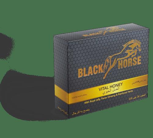 Photo Miel Aphrodisiaque en stick 10g – Black Horse -