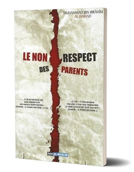 Photo Le non respect des parents - Dar Al Muslim