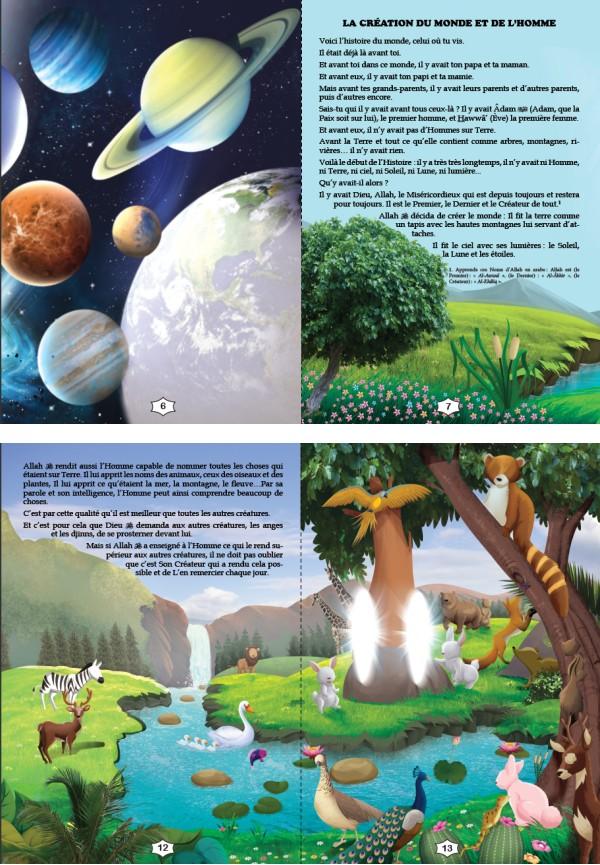 Photo Les Histoires des Prophètes Racontées aux Enfants (Grand livre illustré à partir de 5 ans) – Version cartonnée de luxe - Orientica