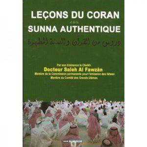 Photo Leçons du Coran et de la Sunna authentique - Dar Al Muslim
