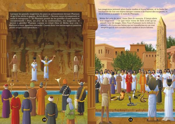 """Photo Les récits des prophètes à la lumière du Coran et de la Sunna : Histoire de """"Moïse chez le Pharaon"""" (Moussa) - Orientica"""
