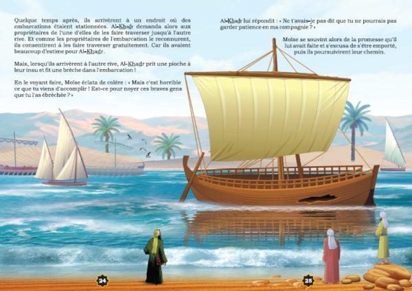 """Photo Les récits des prophètes à la lumière du Coran et de la Sunna : Histoire de """"Moïse et l'énigmatique Al-Khadr"""" - Orientica"""