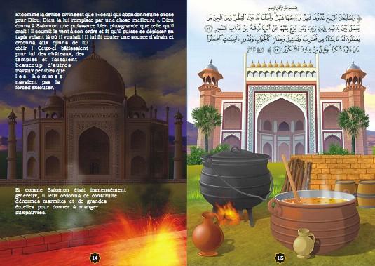 """Photo Les récits des prophètes à la lumière du Coran et de la Sunna : Histoire de """"Salomon"""" (Soulaymân) - Orientica"""