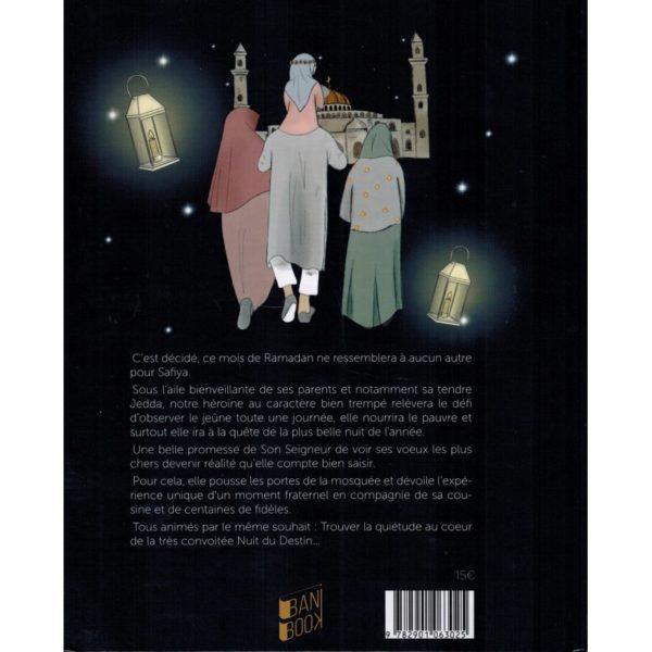 Photo SAFIYA ET LA NUIT DU DESTIN – HÉLÈNE TRENDAFILOV & LYDIA B – BANIBOOK - Bani Book