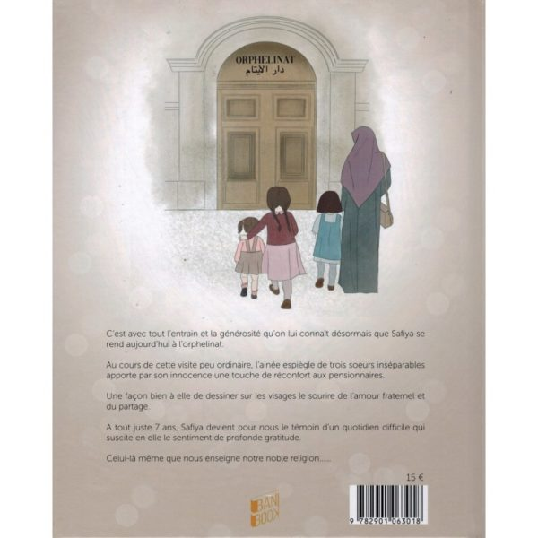 Photo SAFIYA ET LES ORPHELINS – HÉLÈNE TRENDAFILOV & LYDIA B – BANIBOOK - Bani Book
