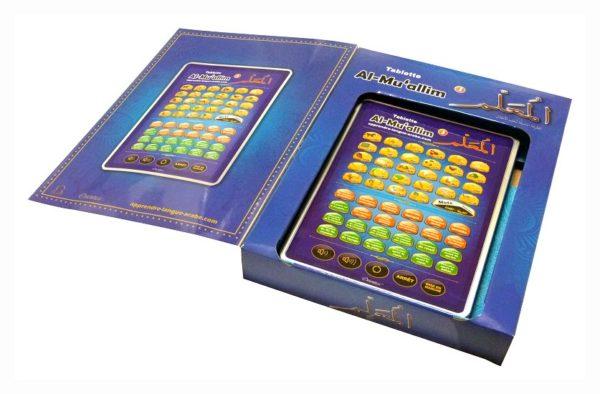 Photo Al-Muallim 3 : Tablette électronique pour l'apprentissage de l'arabe et du Coran (français / arabe) - Orientica