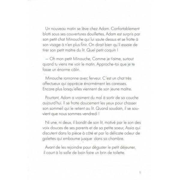 Photo UN VENDREDI CHEZ ADAM – HÉLÈNE TRENDAFILOV & LYDIA B – BANIBOOK - Bani Book