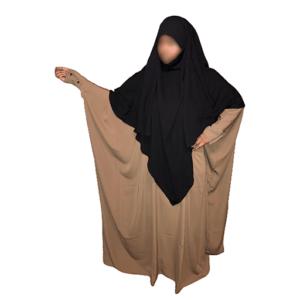 Photo Abaya Oummahat –Kubiya – Bronze - Oummahat