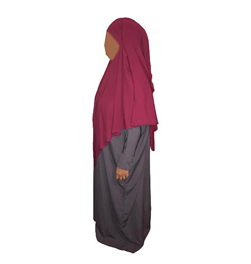 Photo Khimar Oummahat – Iris – Grenat - Oummahat