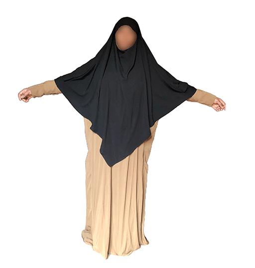 Photo Abaya Oummahat –Mariyam – Bronze - Oummahat