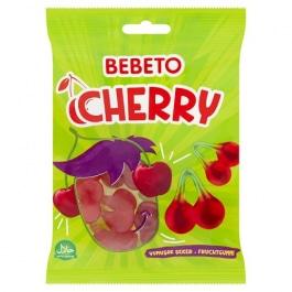 Photo Bonbons Cherry – Cerise – Fabriqué avec du Vrai Jus de Fruit Bebeto – Halal – Sachet 80gr - Bebeto