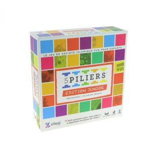 Photo Jeu De Société « 5 PILIERS – EDITION JUNIOR» (Age +6) Version Française - Zileej